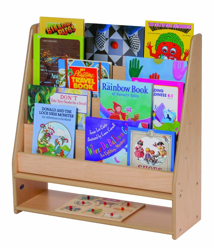 Image of: Low Childrens Bookcase