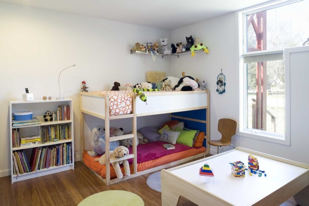 Image of: Low Height Bunk Beds For Toddlers