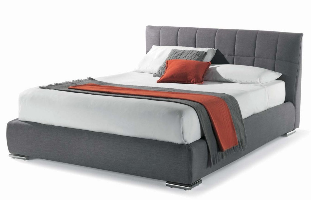 Image of: Low Profile Bed Frame Feet