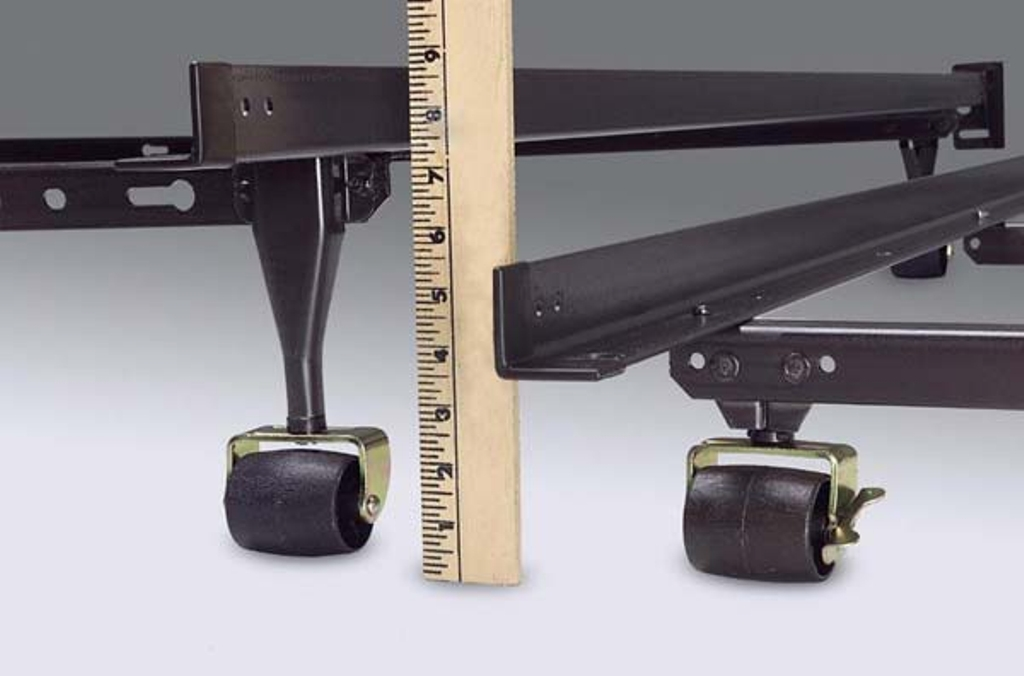 Image of: Low Profile Bed Frame Full Size