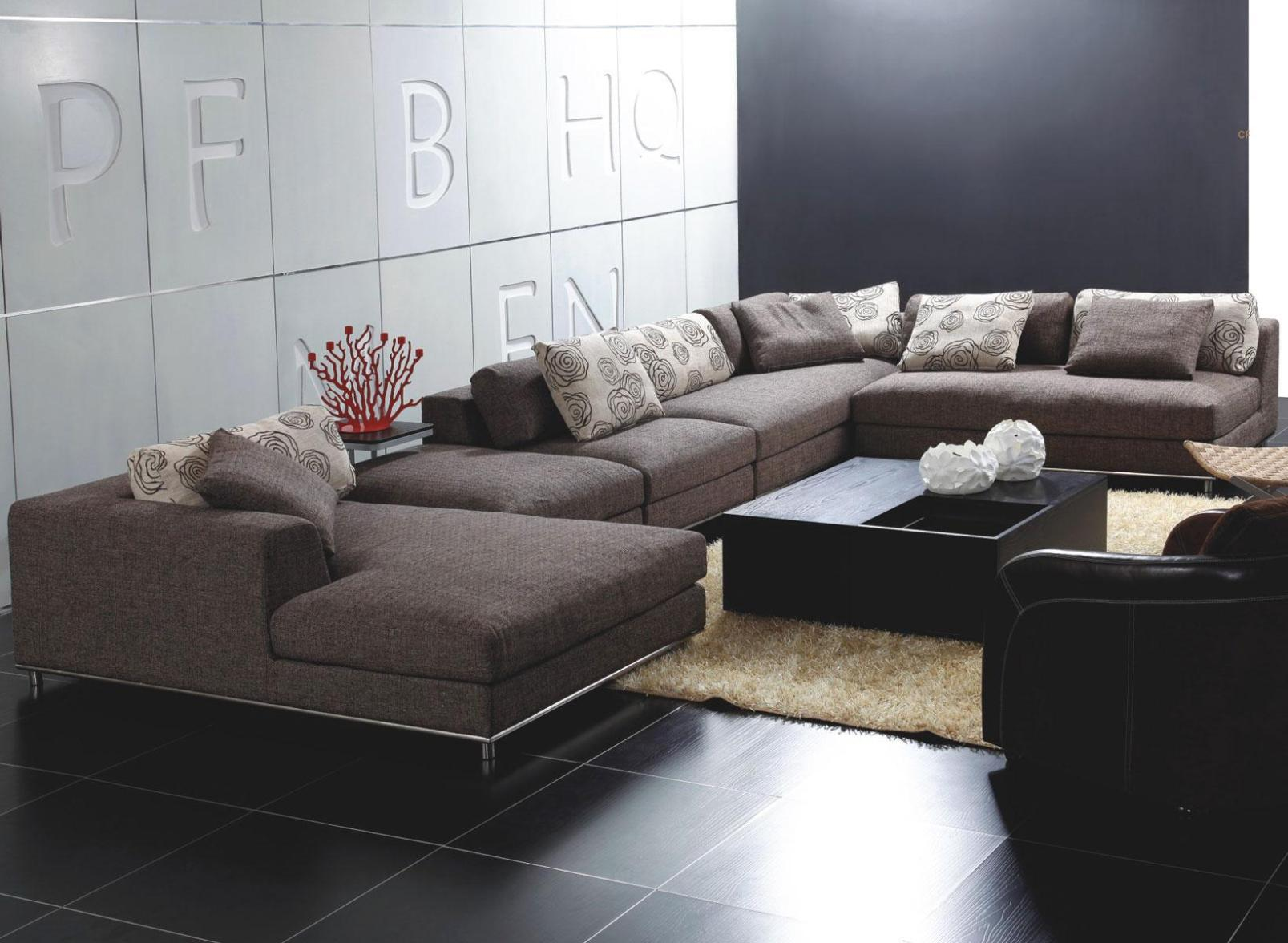 Image of: Low Sectional Couches