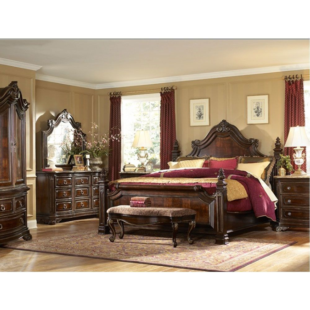 Image of: Luxury El Dorado Bedroom Sets