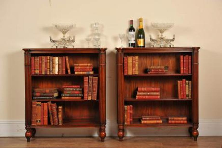 Image of: Mahogany bookcase Melbourne