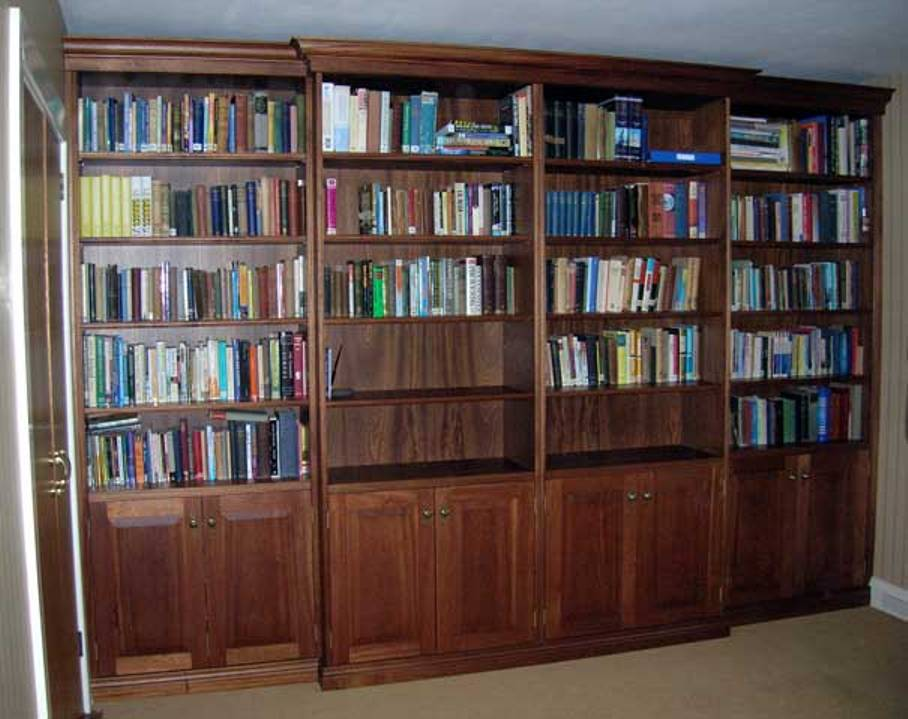 Image of: Mahogany bookcase anchorman