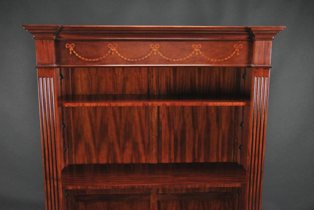 Image of: Mahogany Bookcase Modern Ideas