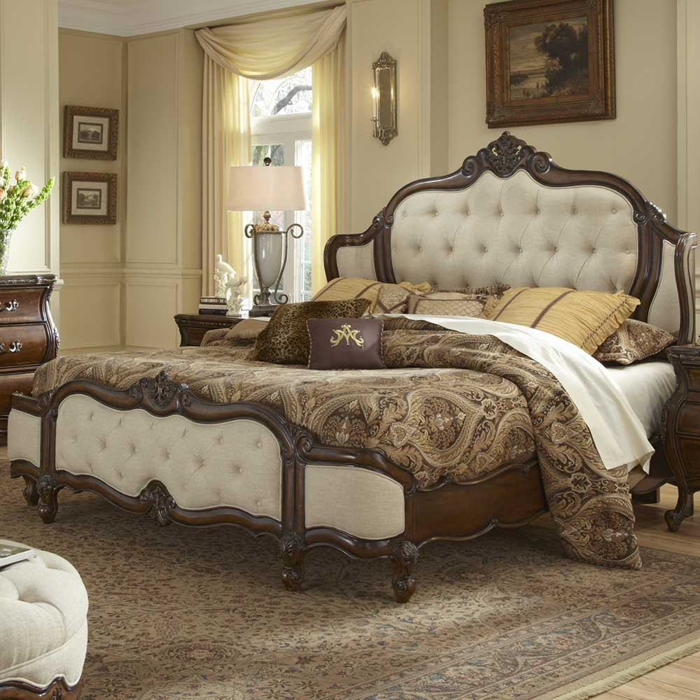 Image of: Master Aico Bedroom Set