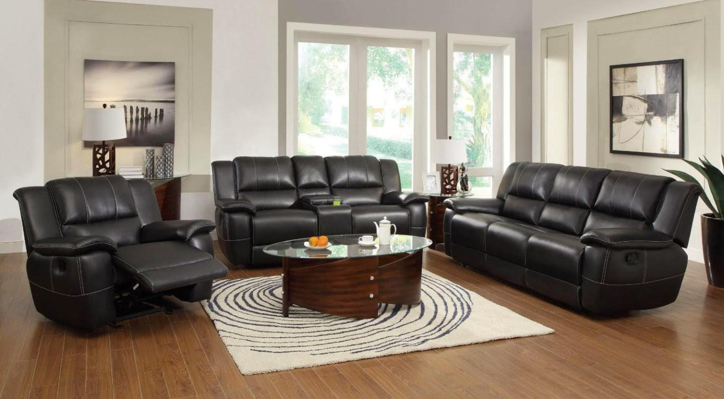 Image of: Microfiber Loveseat Recliner
