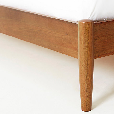 Image of: Mid Century Bed Frame Diy