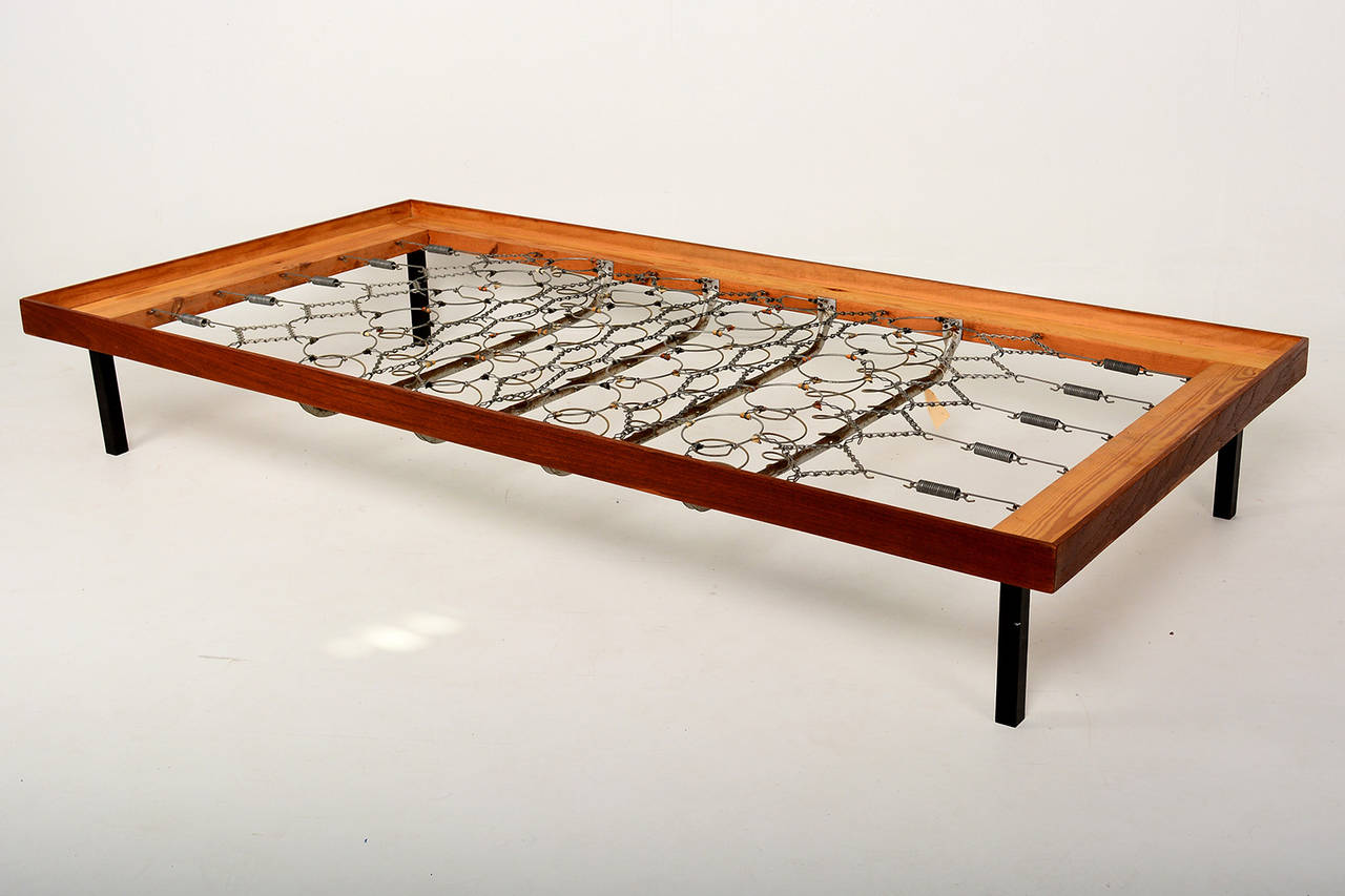 Image of: The Mid Century Bed Frames