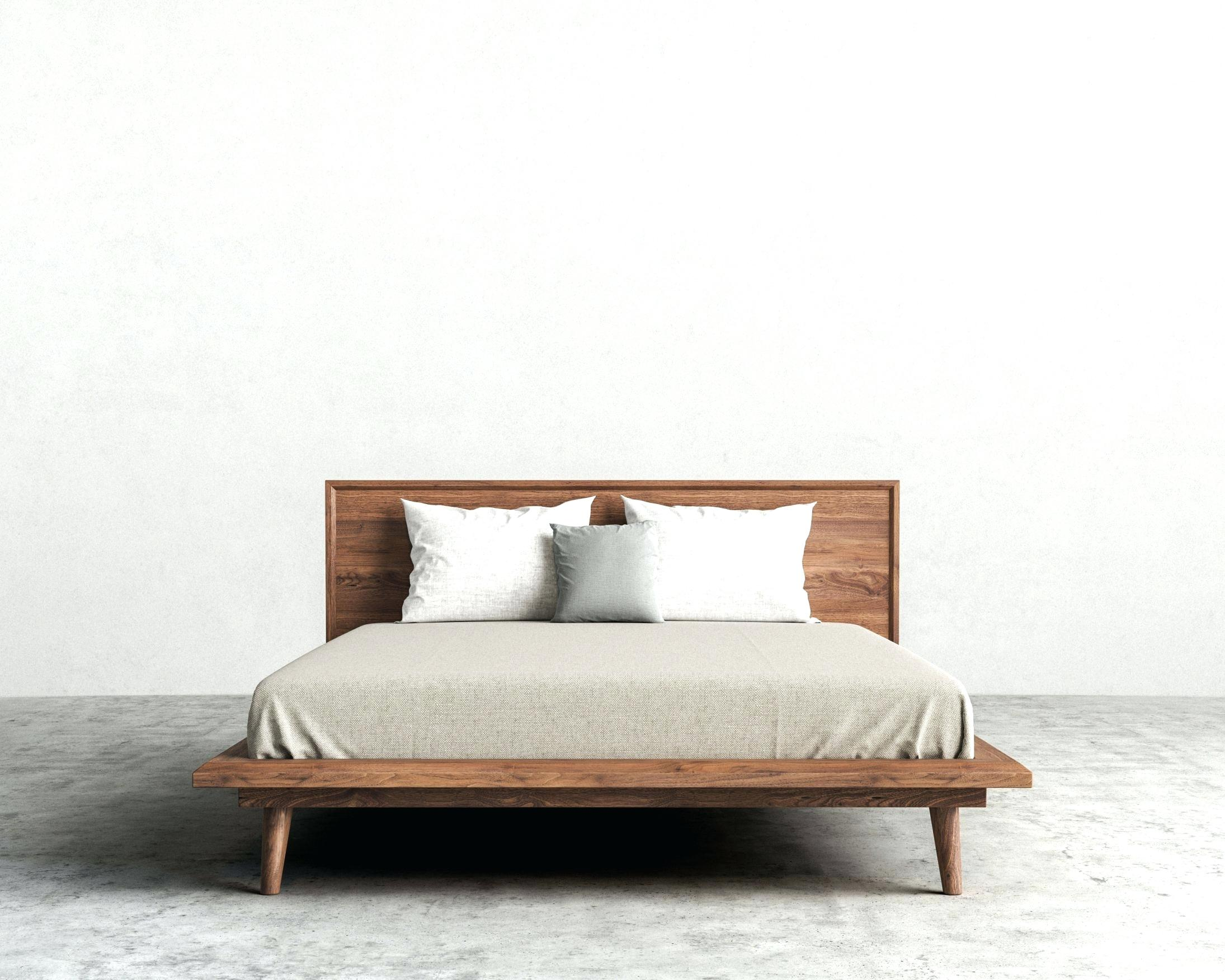 Image of: Mid Century Bed Frames