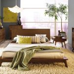 Mid Century Modern Bed Ideas Photos