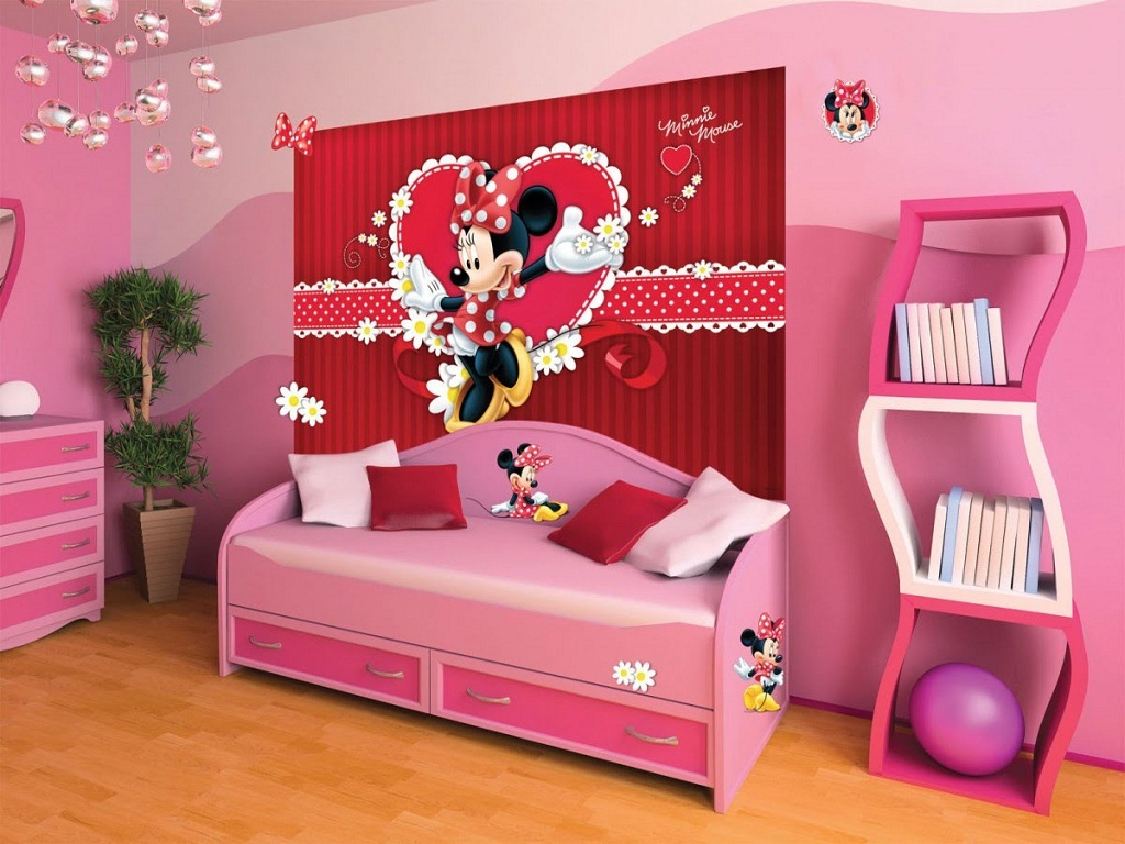 Image of: Minnie Mouse Bedroom Decor