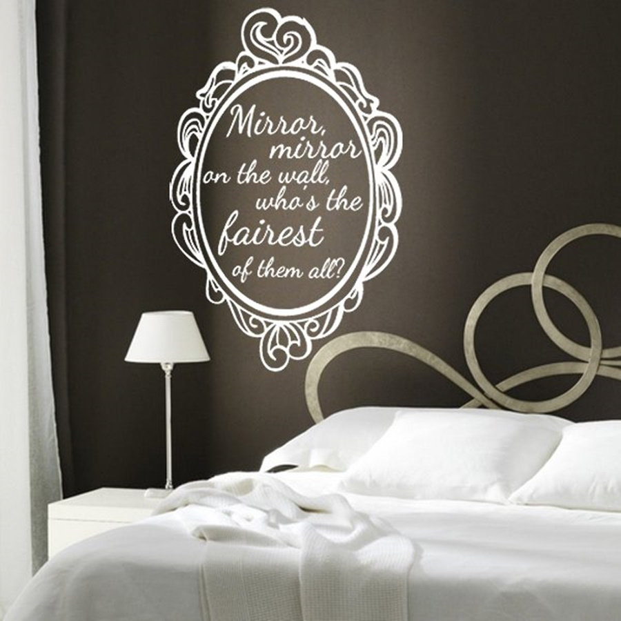 Image of: Mirror Mirror On The Wall Quote Ideas