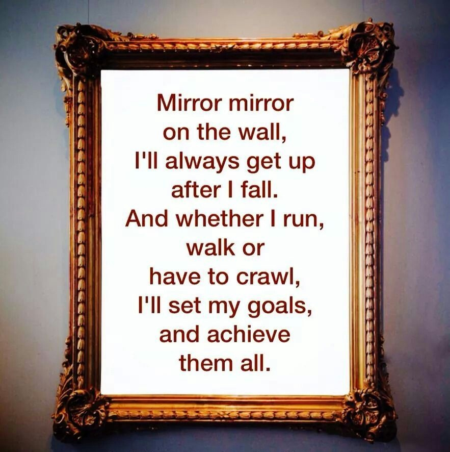 Image of: Best Mirror On The Wall Quote