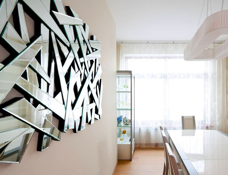 Image of: Mirror Wall Art Dining