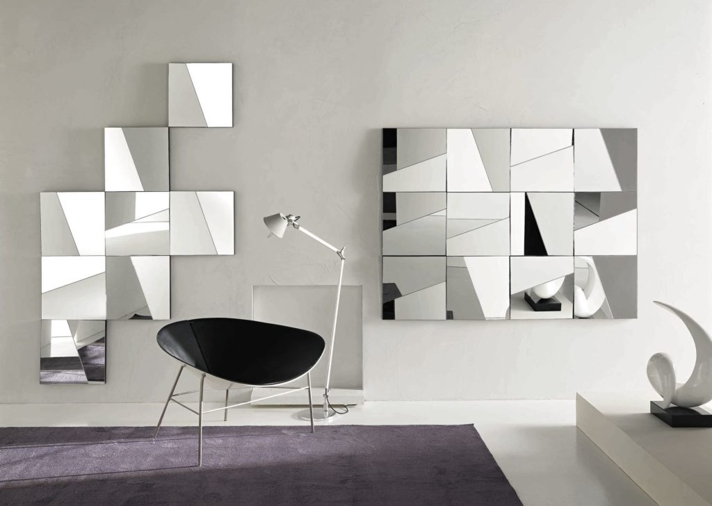 Image of: Mirror Wall Art Ideas