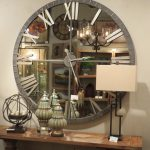 Mirror Wall Clock Elegant