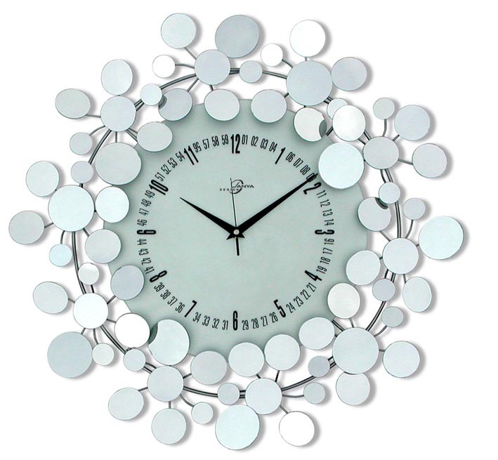 Image of: Mirror Wall Clock Image