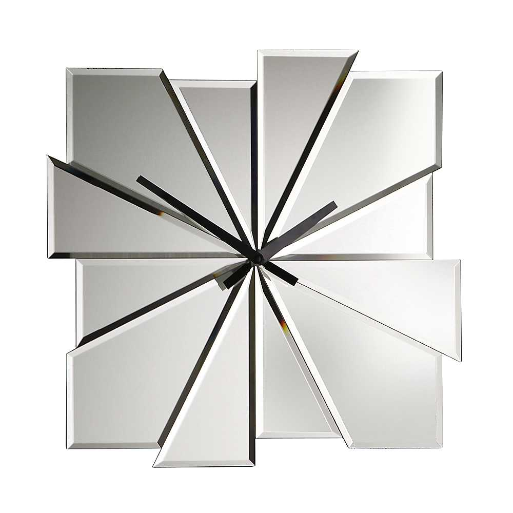 Image of: Mirror Wall Clock Simple
