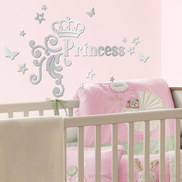 Image of: Mirror Wall Decals Nice