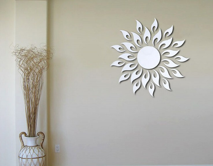Image of: Mirror Wall Decals Small