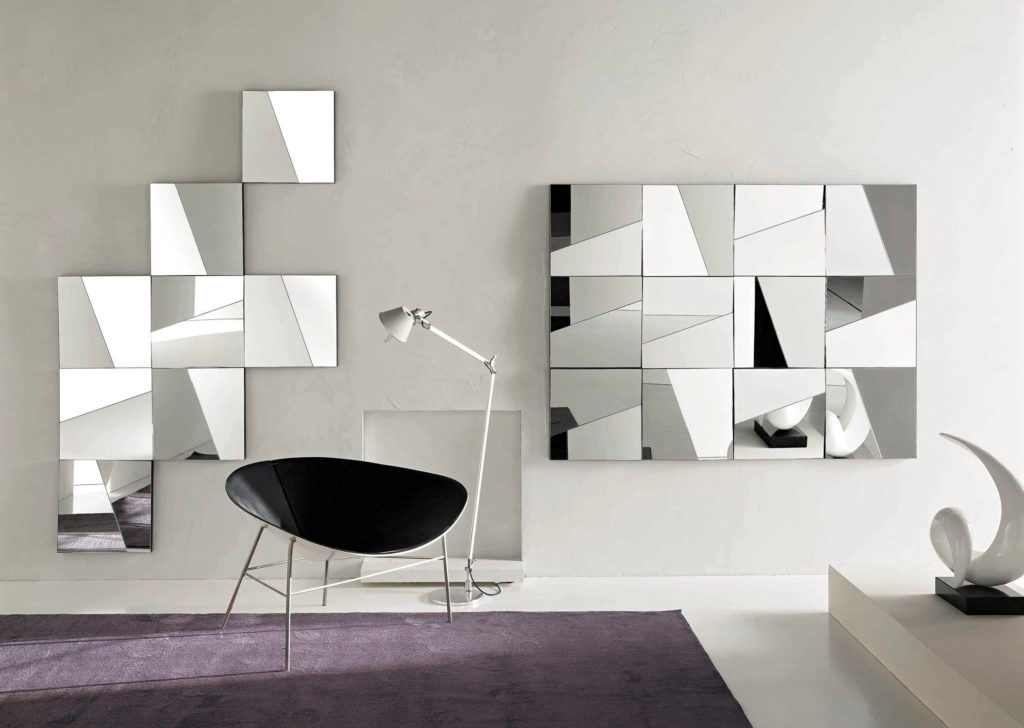 Image of: Mirror Wall Sculpture Coastal