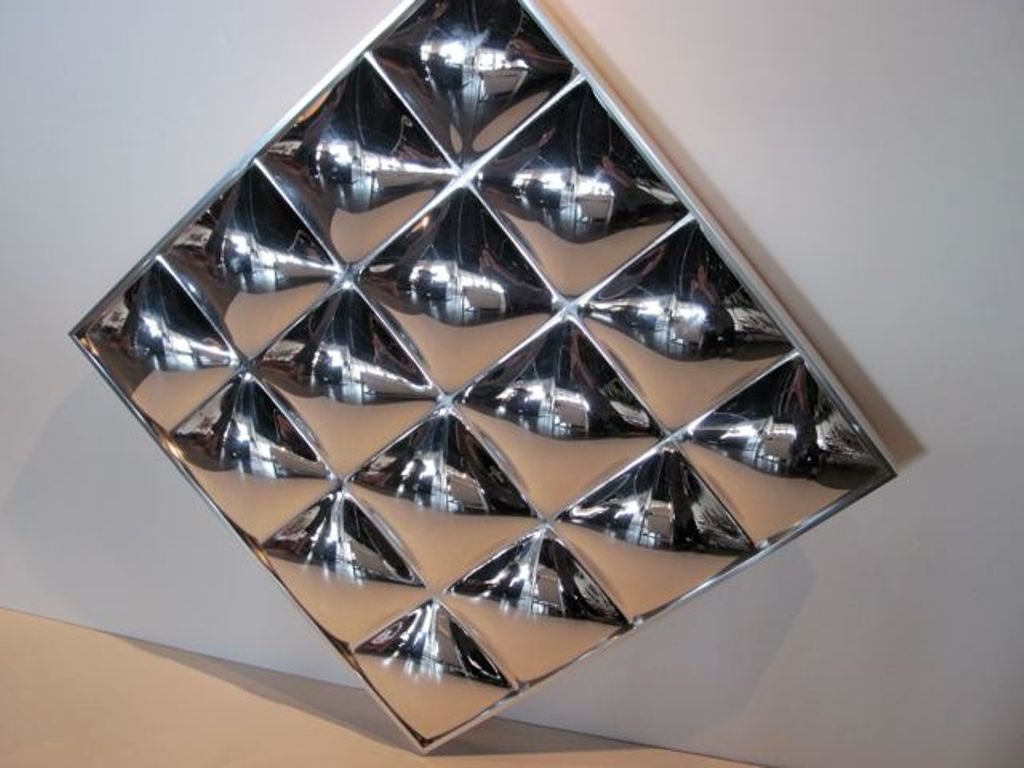 Image of: Mirror Wall Sculpture Ideas