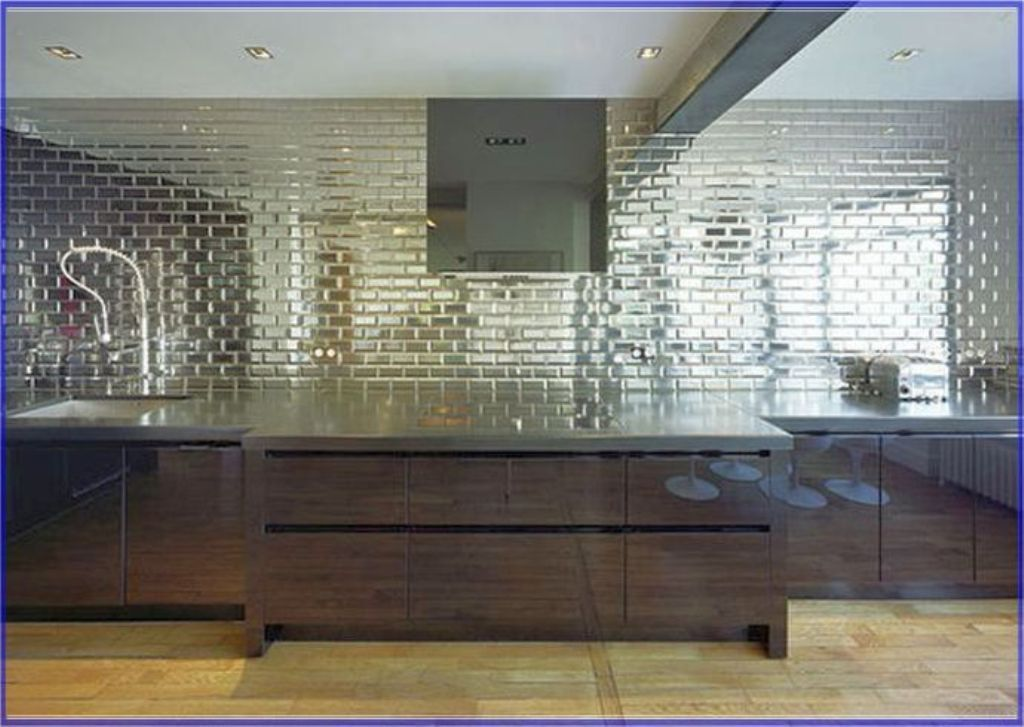 Image of: Mirror Wall Tiles Lowe's