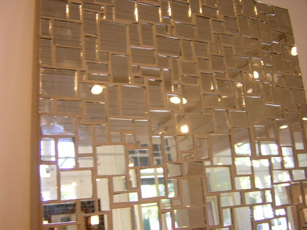Image of: Mirror Wall Tiles from The 70