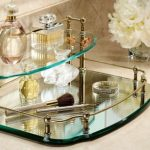 Mirrored Vanity Set For Top of Dressers