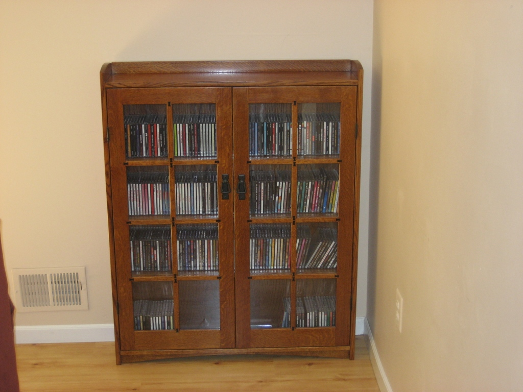 Image of: Mission Style Bookcase Image