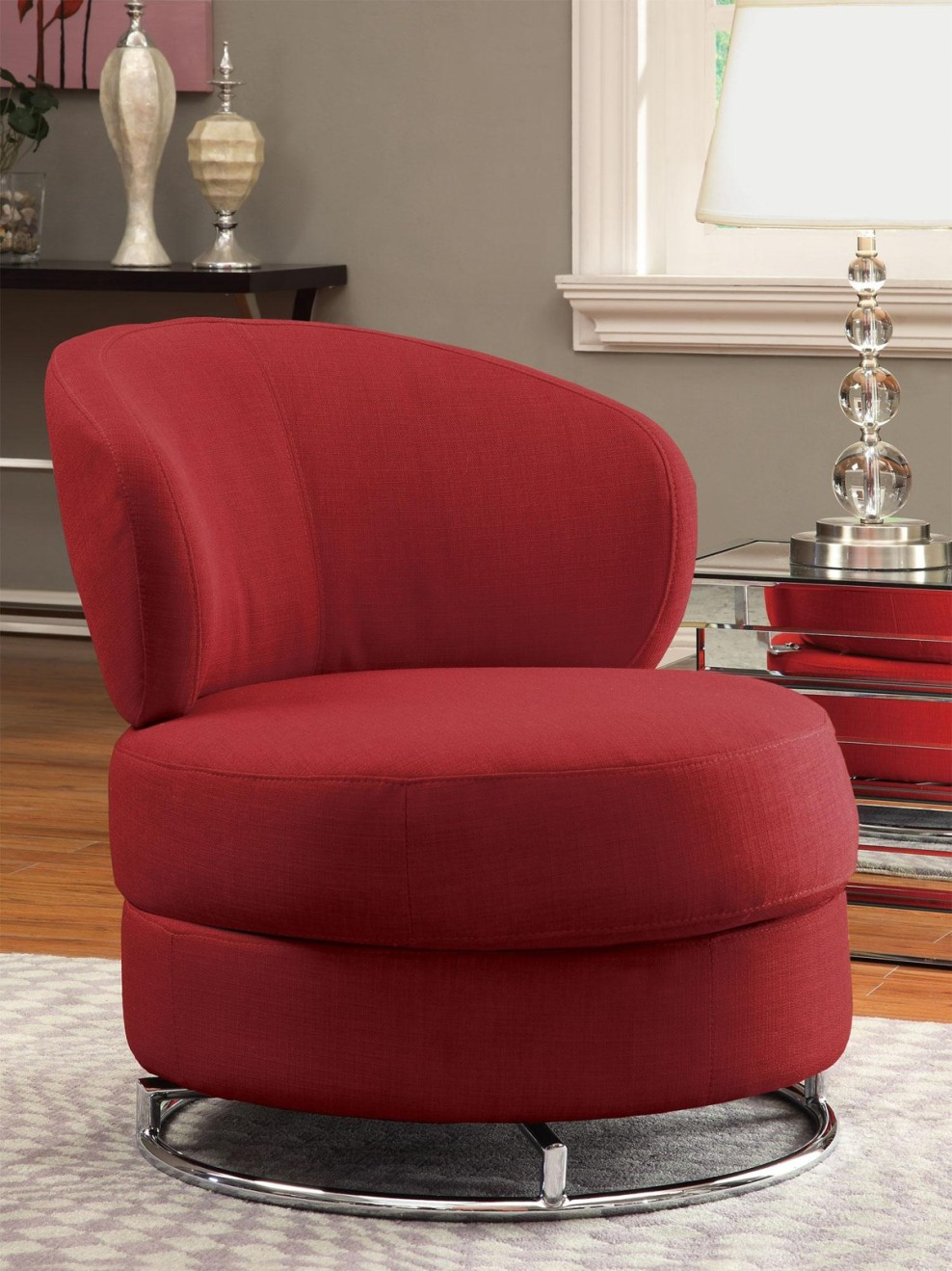 Image of: Model of Swivel Accent Chairs