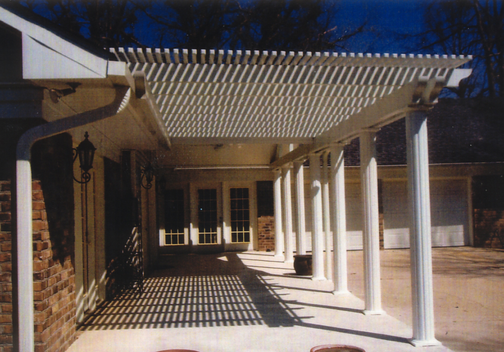 Image of: Modern Aluminum Awnings for Patios