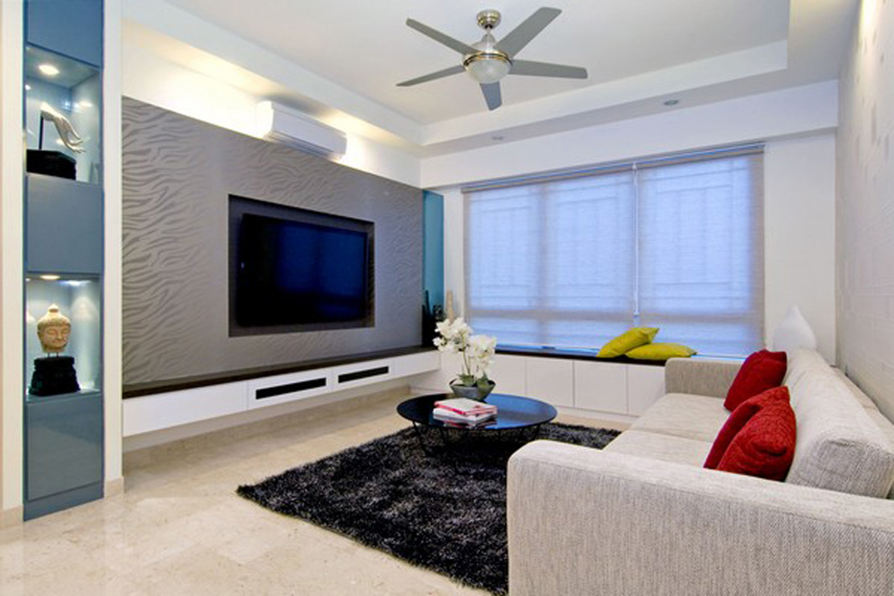 Image of: modern apartment living room ideas