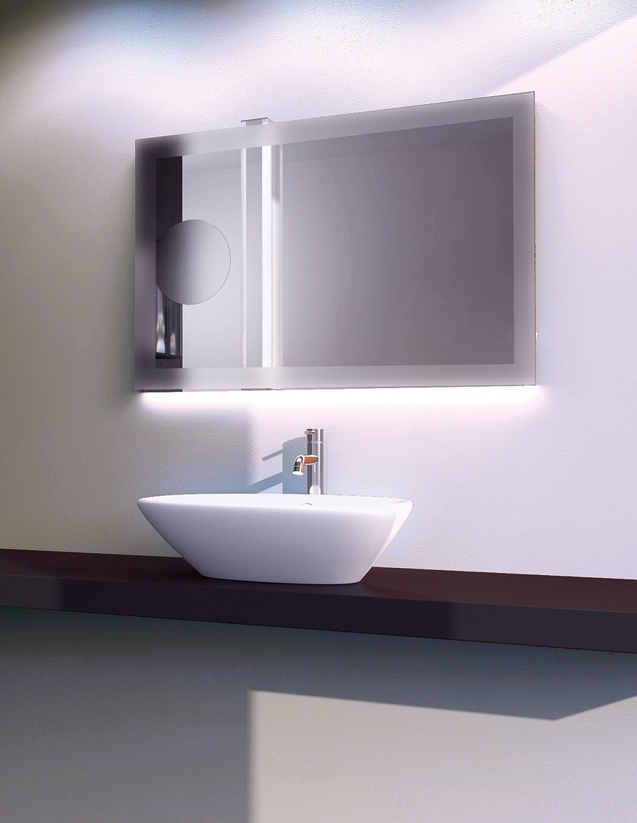 Modern Bathroom Mirror with Lights