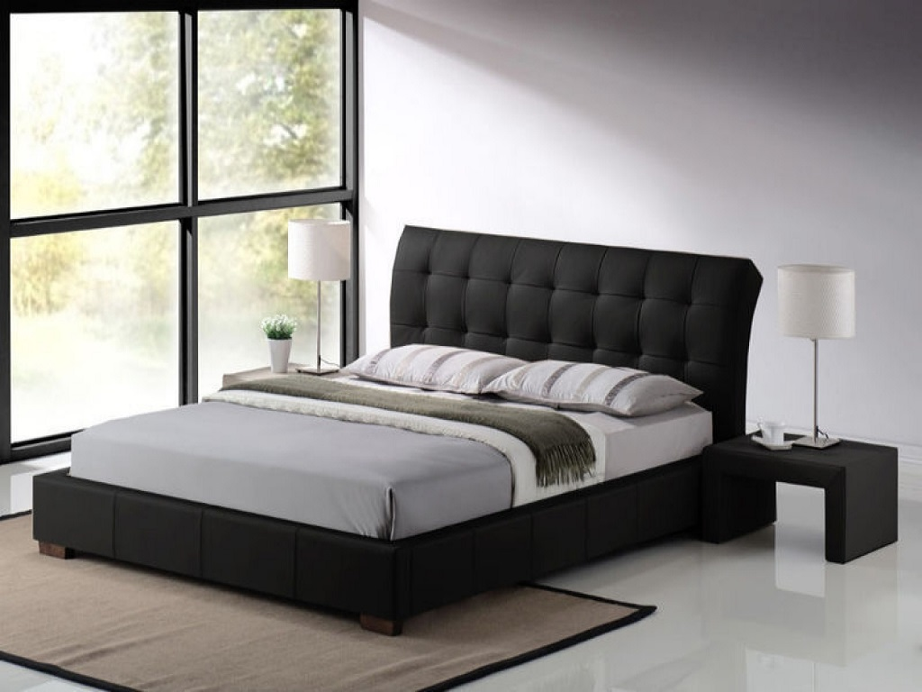 Image of: Modern Bed Frames Cheap
