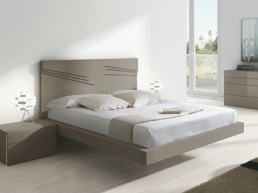 Image of: Modern Bed Frames With Storage
