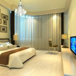 The Modern Bedroom Curtains Ideas
