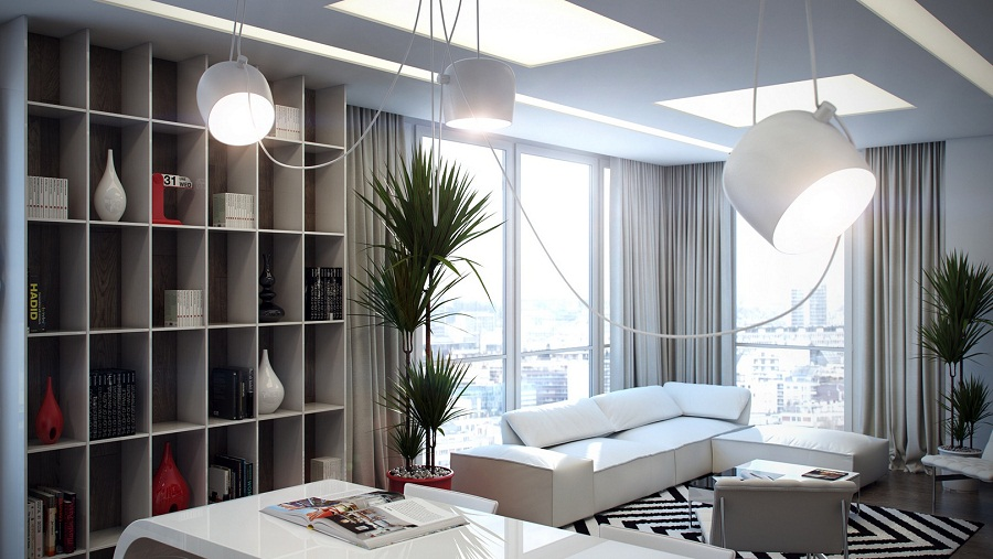 Image of: Modern Bookcase Size