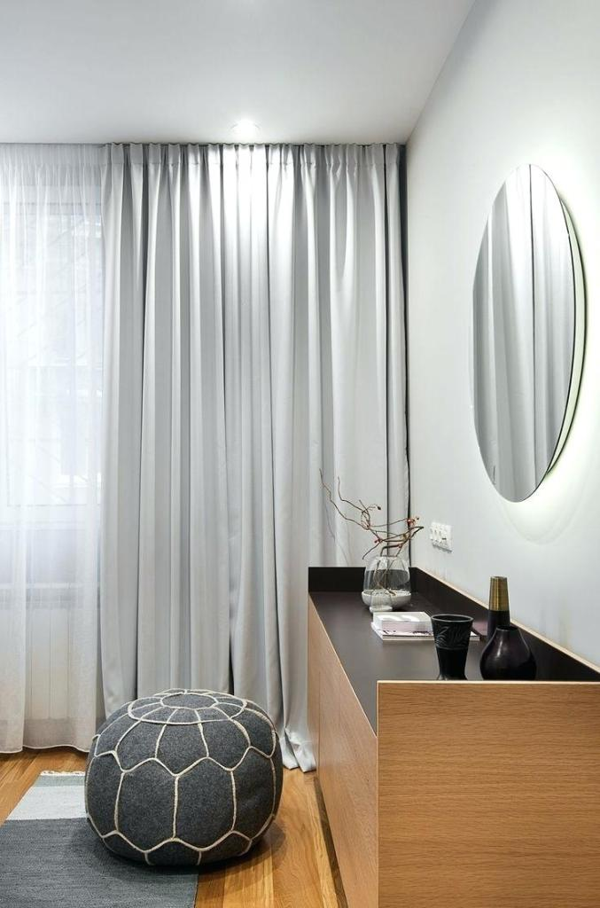 Image of: Modern Curtain Ideas For Bedroom