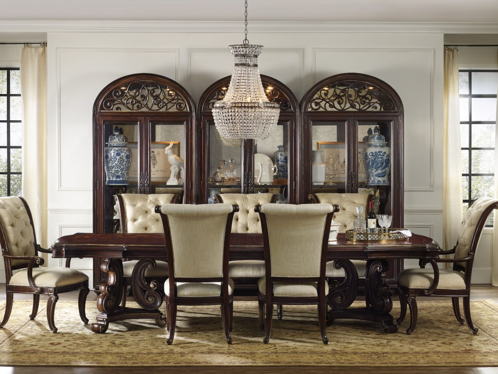 Image of: Modern Dining Chairs with Casters
