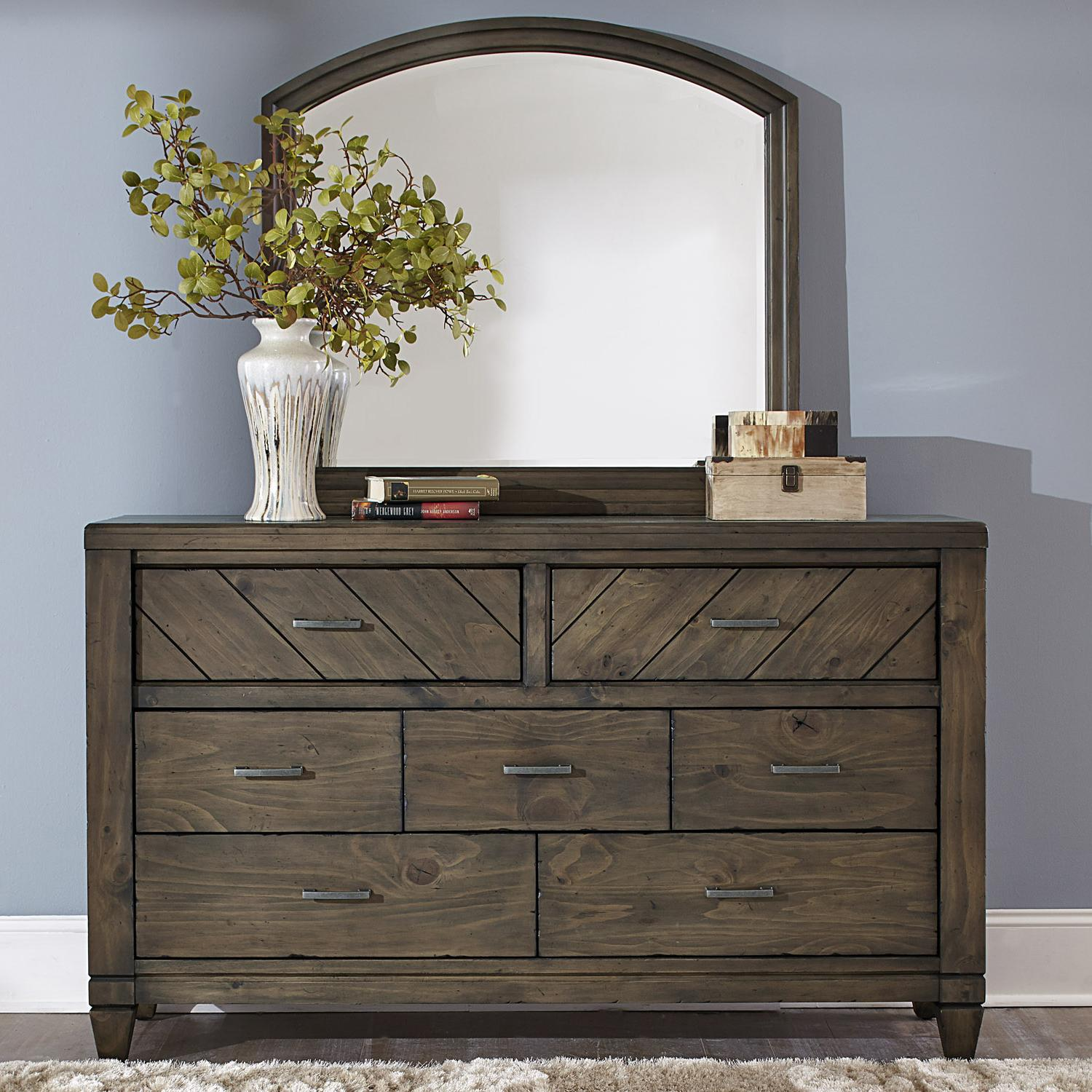 Image of: Modern Dresser with Mirror Furniture