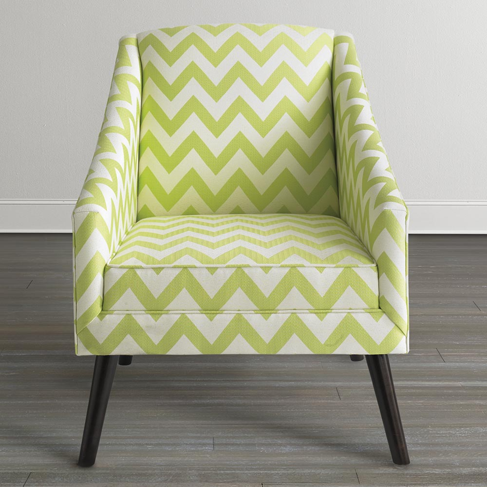Image of: Modern Lime Green Accent Chair