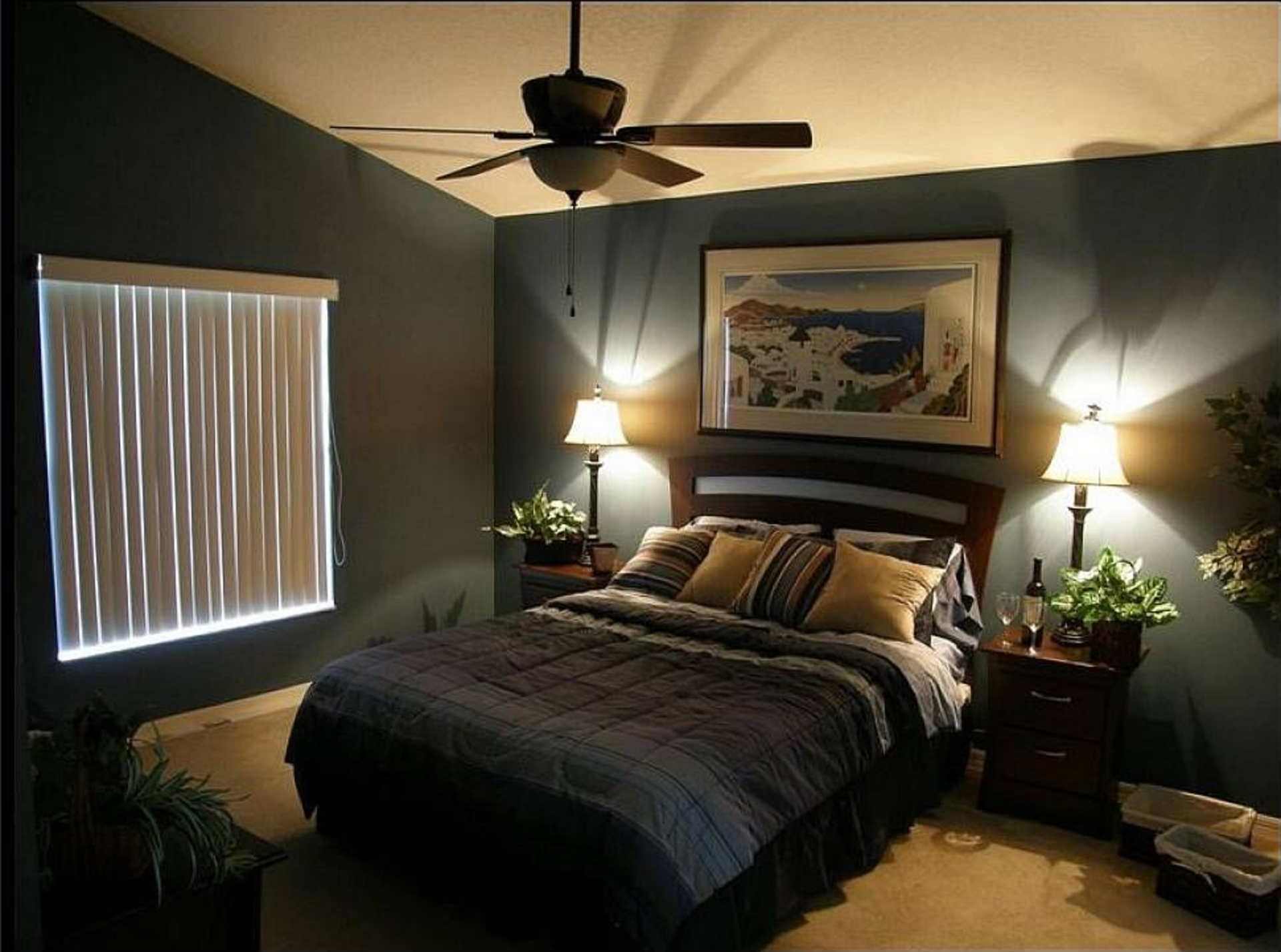 Image of: Modern Master Bedroom Color Ideas