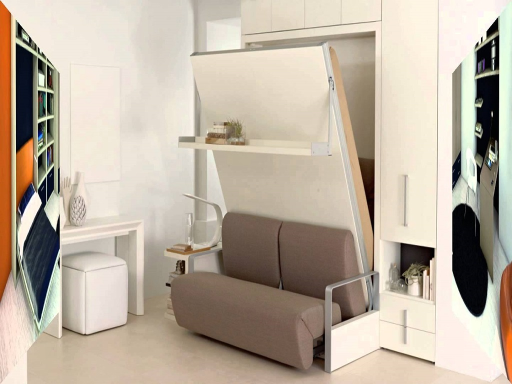 Image of: Modern Murphy Bed Canada