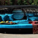 modern outdoor wicker chairs