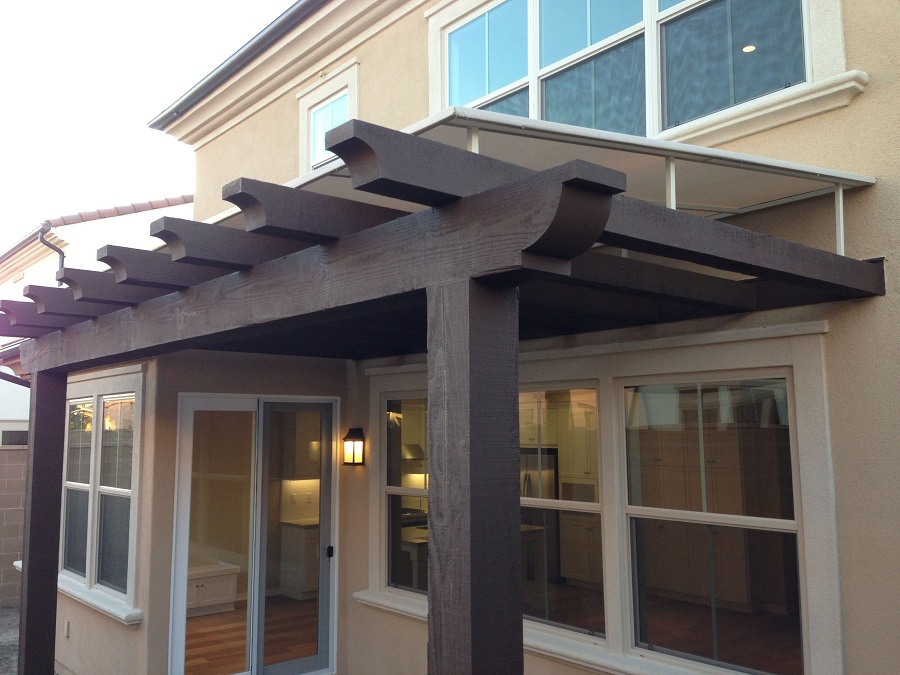 Image of: Modern Outdoor Window Awnings