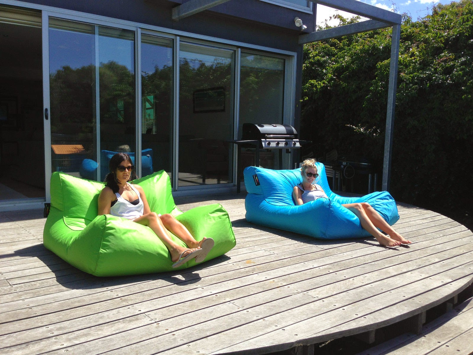 Image of: modern oversized bean bag chairs