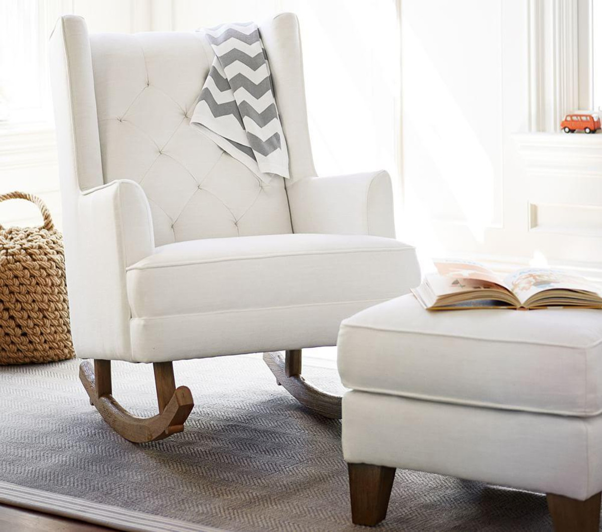 Image of: Modern Oversized Rocking Chair