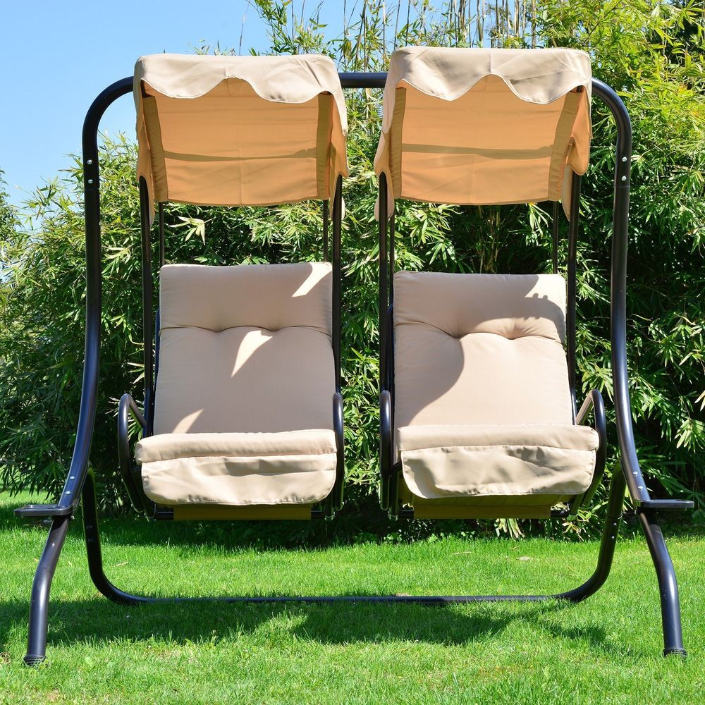 Image of: modern patio swing chair